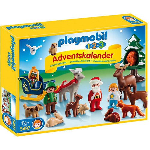 Playmobil 1 2 3 Advent Christmas in Fore
