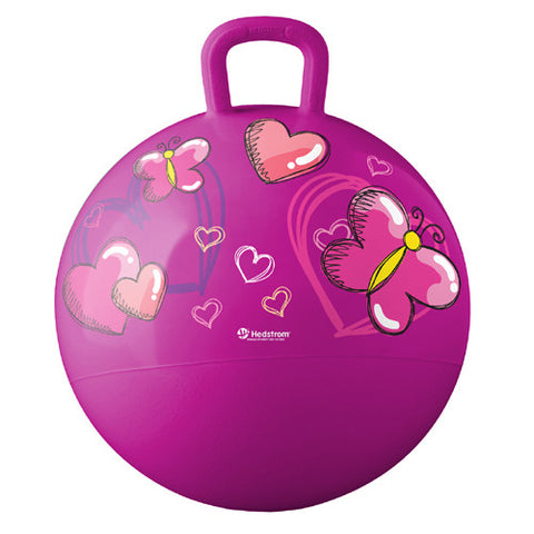 Ball Bounce Hearts &  Butterflies Hopper