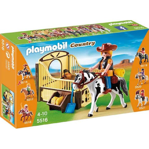 Playmobil Rodeo Horse with Stall