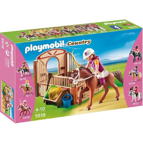 Playmobil Trekking Horse with Stall