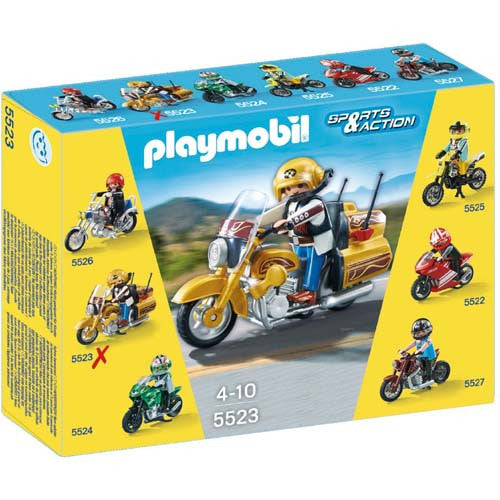 Playmobil Highway Roadbike
