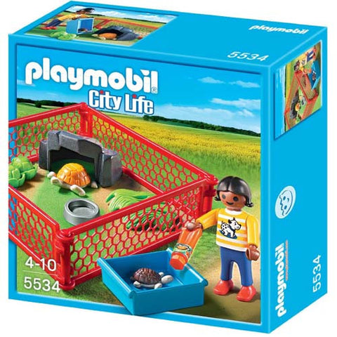 Playmobil Turtle Enclosure