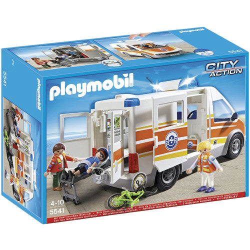 Playmobil Ambulance with Siren
