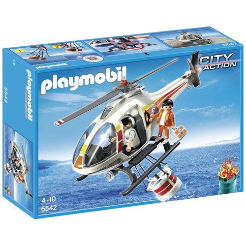 Playmobil Fire Fighting Helicopter