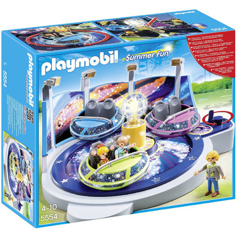 Playmobil SpinnignSpaceship Ride w/Light