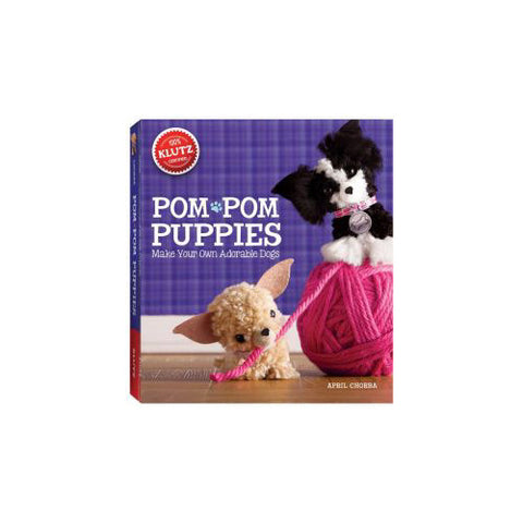 Klutz Pom Pom Puppies MYO Dogs