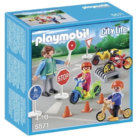 Playmobil Children with Crossing Guard