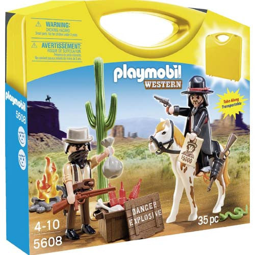 Playmobil Carrying Case Western