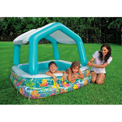 Intex Sun Shade Pool Deluxe Pool