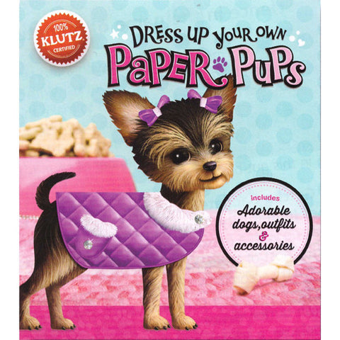 Klutz Dress Up Your Own Paper Pups