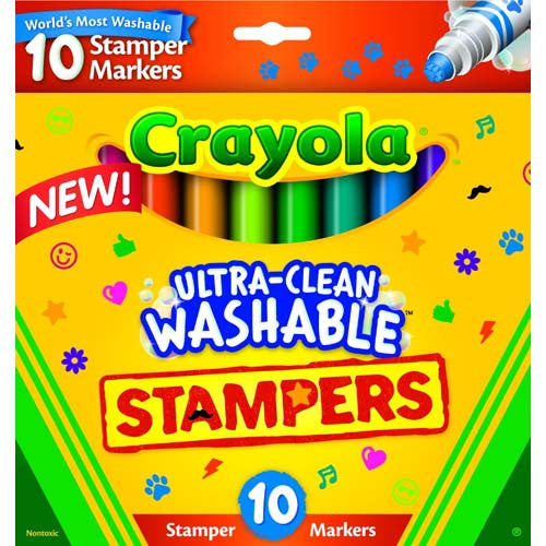 Crayola 10ct Ultra Washable Stampers