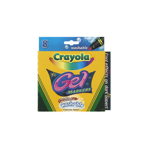 Crayola 8ct Gel Washable Markers