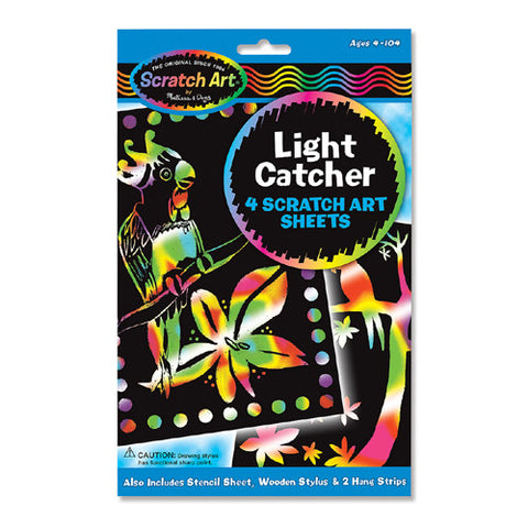 M&D Scratch Art-Light Catcher-Sheets