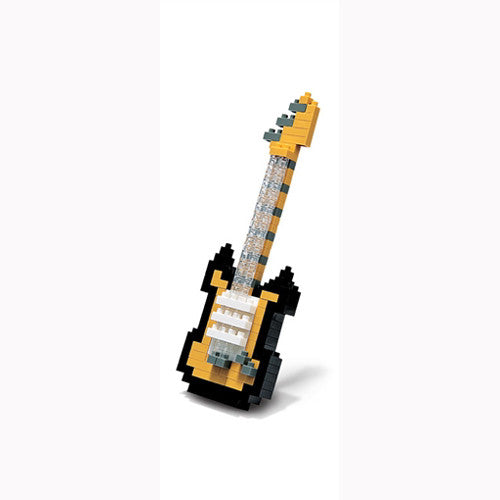 Nanoblock Electric Guitar Black