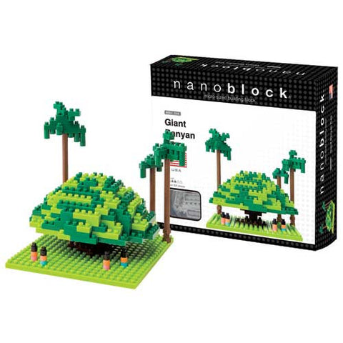 Nanoblock Giant Banyan Tree