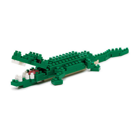 Nanoblocks Crocodile