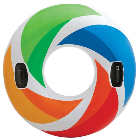 Intex 48 inch Color Whirl Tube w/Handles