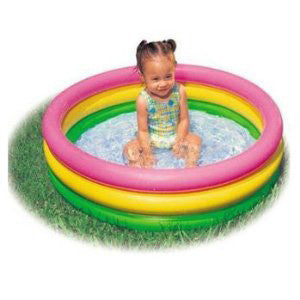 Intex 3 Ring Sunset Glow Baby Pool