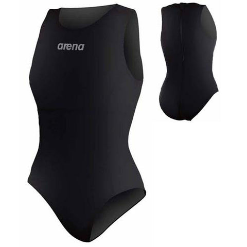Arena Mission Water Polo Blk/Sil 34