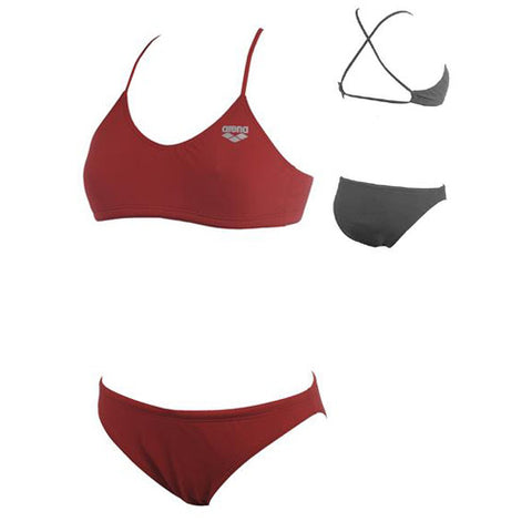 Arena Nadine 2pc Red/Silver 28