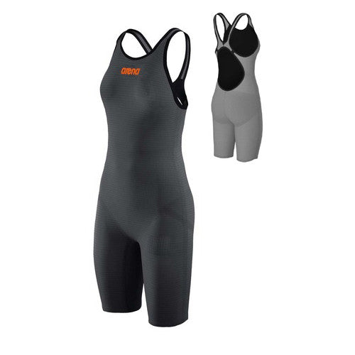 Arena Carbon Pro MK2 Open Back Dark Grey / Orange 22