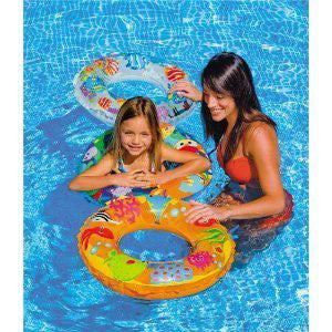 "Intex Ocean Reef Transparent 24"" Ring"