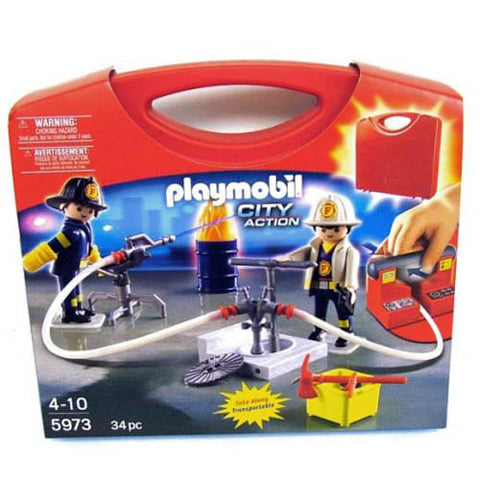 Playmobil Carrying Case Firemen