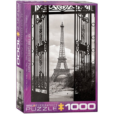 Eurographics 1000pc At the Gates of Pari