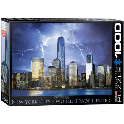 Eurographics 1000pc NYC Trade Center