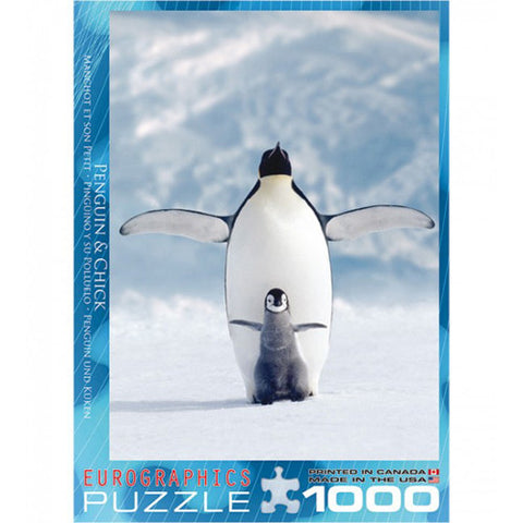 Eurographics 1000pc Penguin and Chick