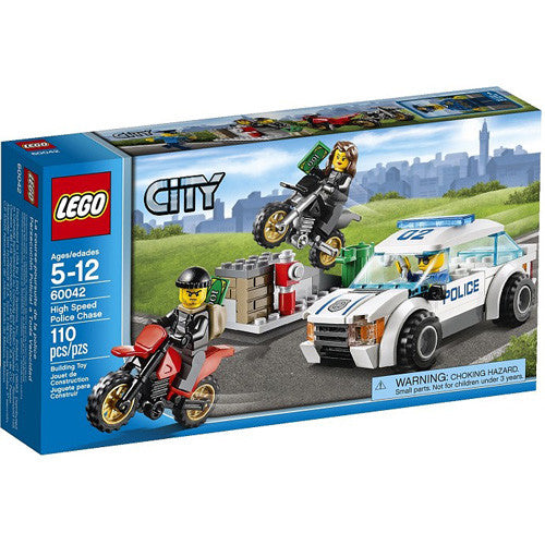 Lego City High Speed Police Chase