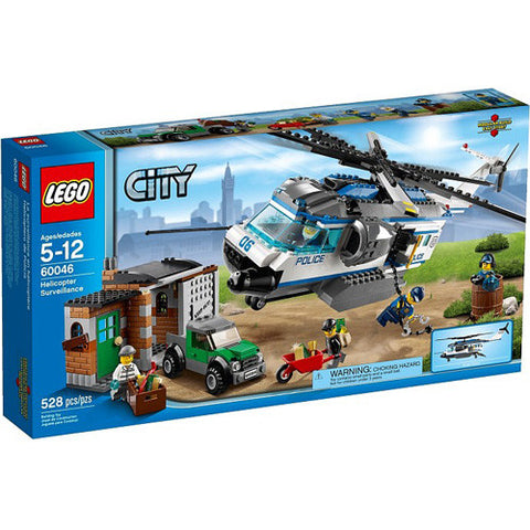 Lego City Helicopter Surveillance