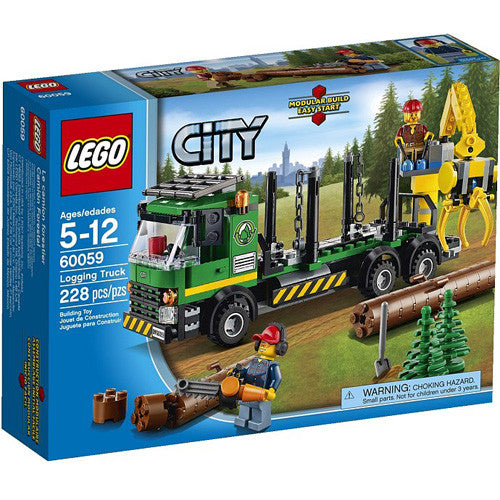 Lego City Logging Truck