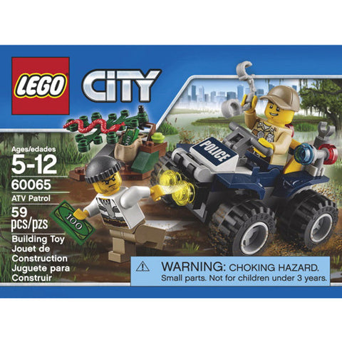 Lego City Police ATV Patrol