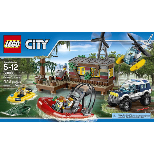 Lego City Police Crooks' Hideout