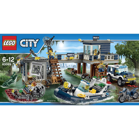 Lego City Police Swamp Station