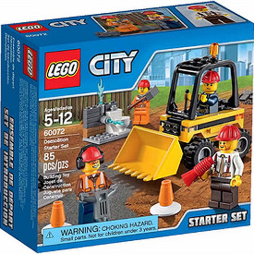 Lego City Demolition Starter Set