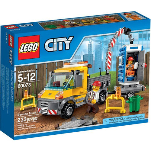 Lego City Demo Service Truck