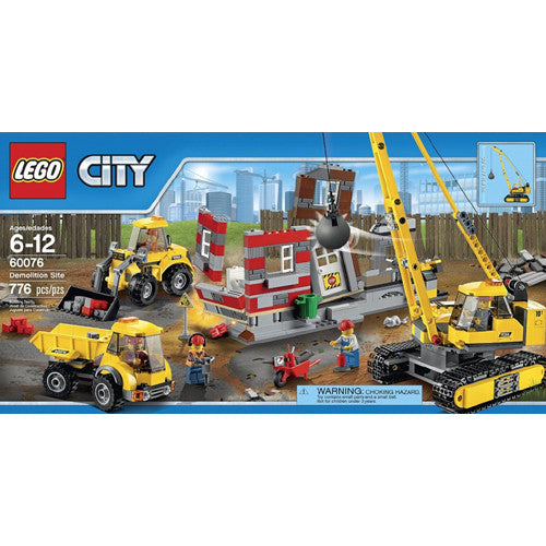Lego City Demolition Site