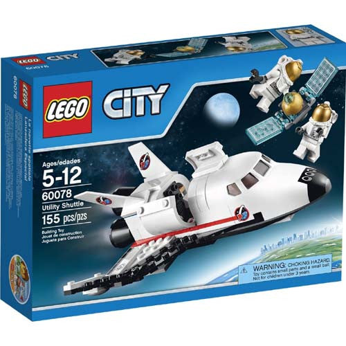 Lego City Space Utility Shuttle