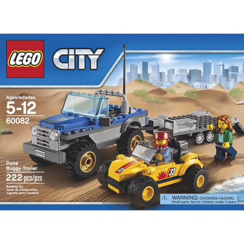 Lego City Veh Dune Buggy Trailer