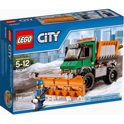 Lego City Veh Snowplow Truck