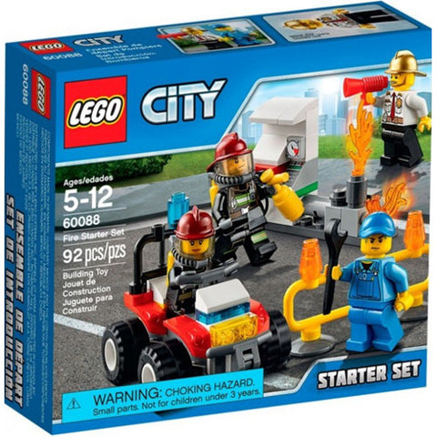 Lego City Fire Starter Set