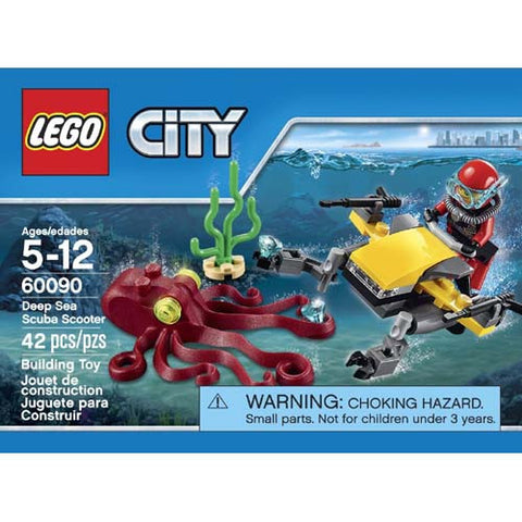 Lego City Deep Sea Scuba Scooter