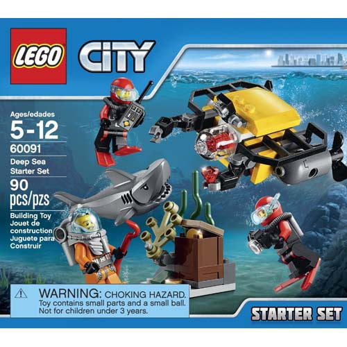 Lego City Deep Sea Starter Set
