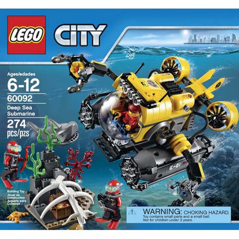 Lego City Deep Sea Submarine
