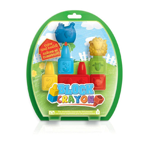 Block Crayons Farm 7pc