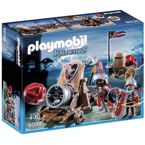 Playmobil Hawk Knight's Battle Cannon