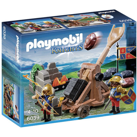 Playmobil Royal Lion Knight's Catapult