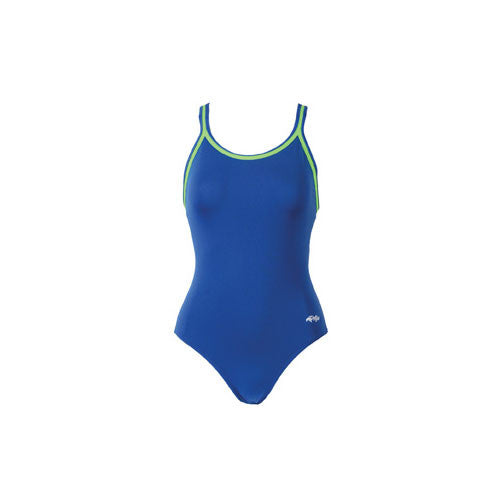 Dolfin DBX Solid Poly Royal/Lime 14.0